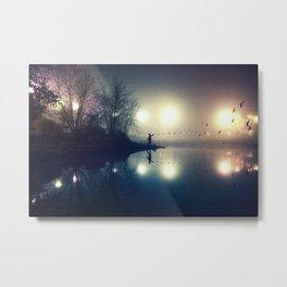To Let Go Of Every Sigh And Every Sorrow. Metal Print