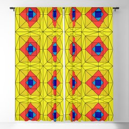 Suspiria Stained Glass Blackout Curtain
