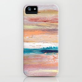 Rock Study in Pinks iPhone Case
