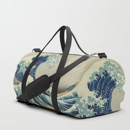 The Great Wave off Kanagawa Duffle Bag