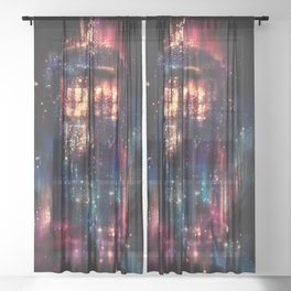 Tardis Sheer Curtain