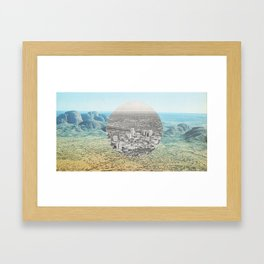 new horizons no.3 Framed Art Print