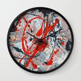 Splatter Flash Wall Clock