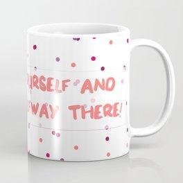 Thoughtful Dots Coffee Mug