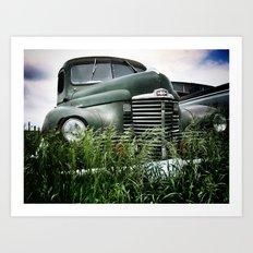 Iowa Truck Art Print