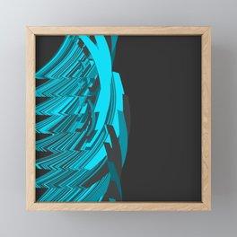 Weird Abstraction Framed Mini Art Print