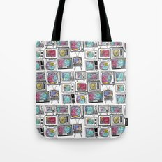 colour tv Tote Bag