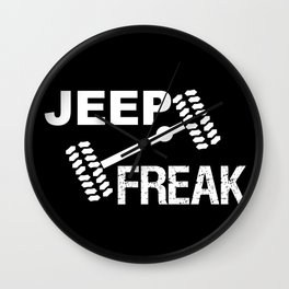 Jeep Freak Wall Clock