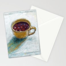 Cherry compote in my cup Stationery Cards