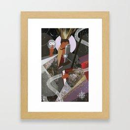 Dorian Pavus Tarot Paper Art Framed Art Print