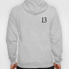 13 b-w Hoody