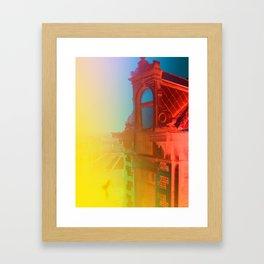 Mont des Arts Framed Art Print