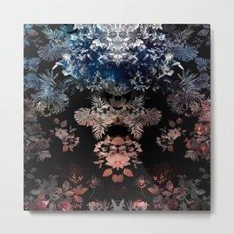 Dark botanical Metal Print