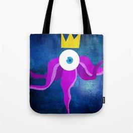 Steampunk king octopus Tote Bag