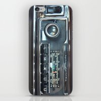 mercedes iPhone & iPod Skins featuring Vintage Radio Becker Europa by Premium
