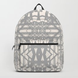 Abstract Tribal Triangles Backpack