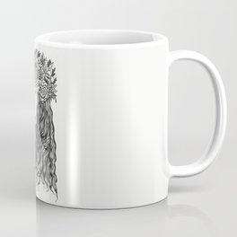 La demoiselle des fleurs Coffee Mug