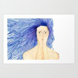 glance Art Print