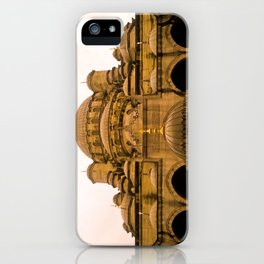 Mosque from above. iPhone Case