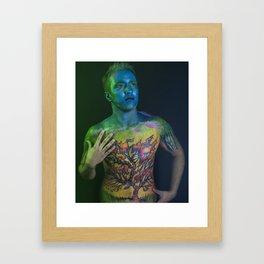 Fall Escape Framed Art Print