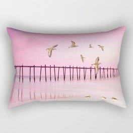 Sandpiper Sunset Rectangular Pillow