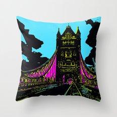 London Bridge Throw Pillow