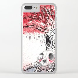 The hunter and the hunted Clear iPhone Case