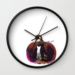 Hallow Kitty Wall Clock