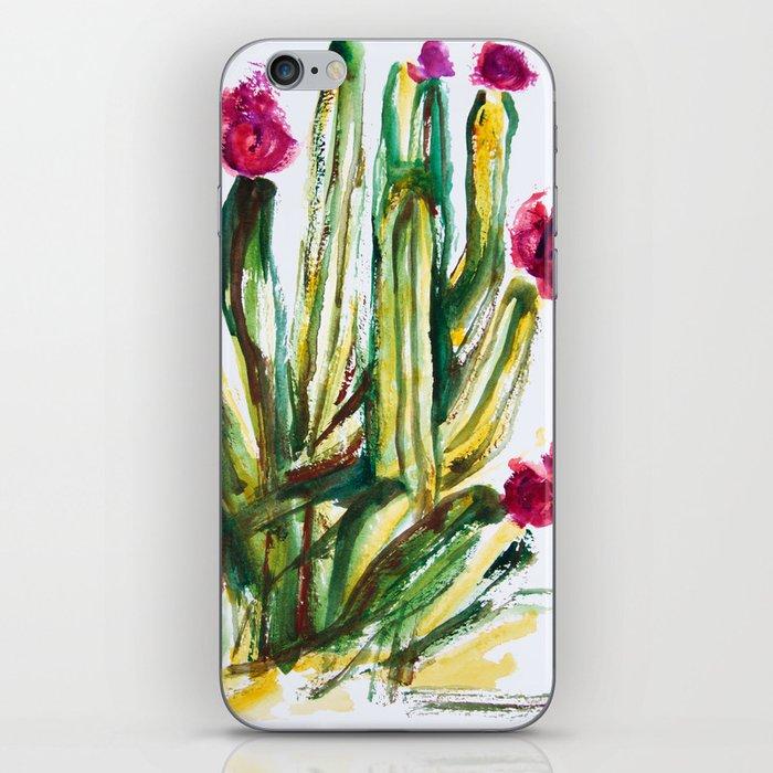 Crazy Cactus iPhone Skin