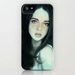 Ghosting of the Passing Innocence iPhone Case