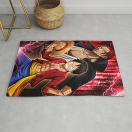 Shanks and lufy - One piece Rug
