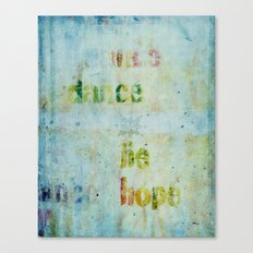 words 2 Canvas Print