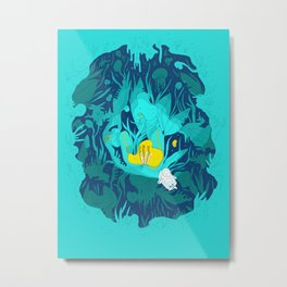 Undiscovered Wonder of the Sea Metal Print