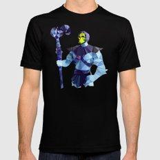 Polygon Heroes - Skeletor Mens Fitted Tee LARGE Black