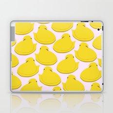 yellow peep Laptop & iPad Skin