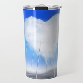 When I feel love, I' d be above the clouds Travel Mug