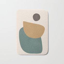 Abstract Minimal Shapes III Bath Mat