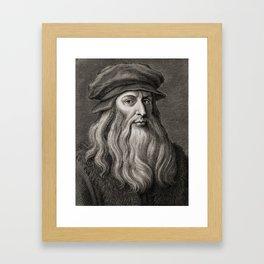 Leonardo da Vinci Framed Art Print