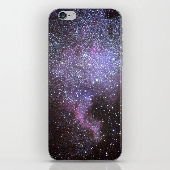 North American Nebulae. The Milky way. North America Nebula iPhone & iPod Skin