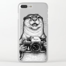 Little photographer Clear iPhone Case