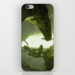 How do you mean you don't wanna go outside? iPhone Skin