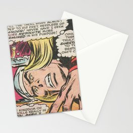 comic character - thor Stationery Cards