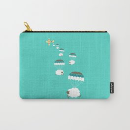 Sheepy clouds Carry-All Pouch
