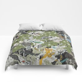 Aperture Science: All science, all the time Comforters
