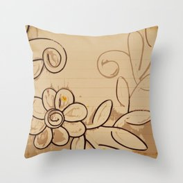 Allons-y Throw Pillow