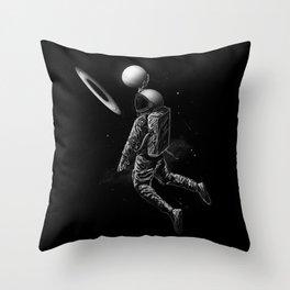 Saturn Dunk Throw Pillow