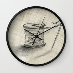 Sewing Time Wall Clock