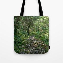 Killarney National Park, Ireland Hiking Path Tote Bag