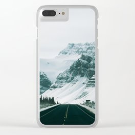 Icefields Parkway Clear iPhone Case