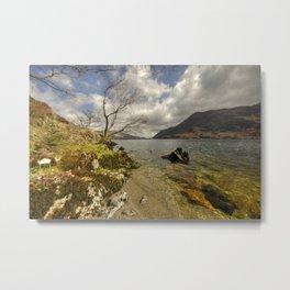 Landscape of the Lake  Metal Print